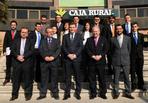 Caja rural ampl a su rea de negocio en la provincia con for Caja rural de toledo oficinas