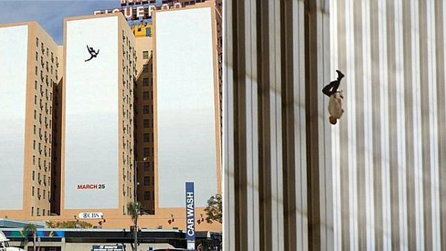 Una polémica campaña de «Mad Men» resucita los fantasmas del 11-S