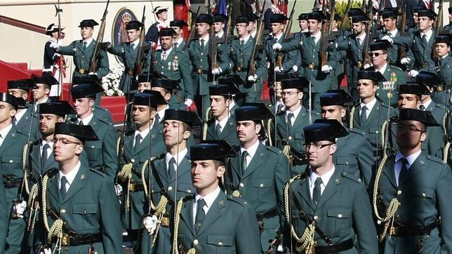 El Tribunal Supremo ratifica la «naturaleza militar» de la Guardia Civil