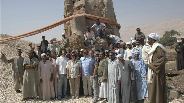 El tercer coloso de Memnon resurge de sus cenizas 3.200 años después