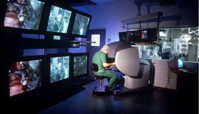 centros de extracción de próstata robot con
