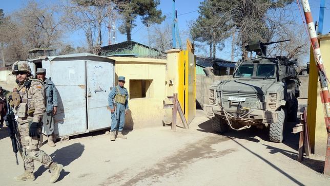Herido de bala un militar español en Afganistán tras un hostigamiento
