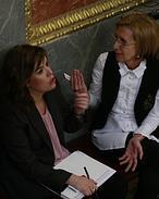 Gallardón defiende el derecho a la maternidad frente al aborto