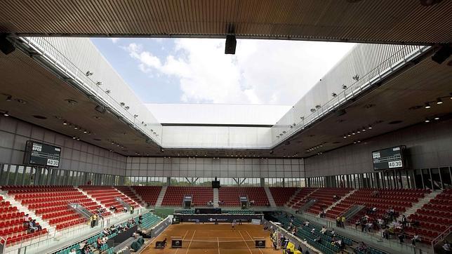 La instalaci n de tenis caja m gica de madrid sede del - Sede mutua madrilena ...