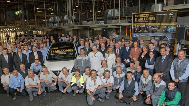 11 millones de Opel en Figueruelas