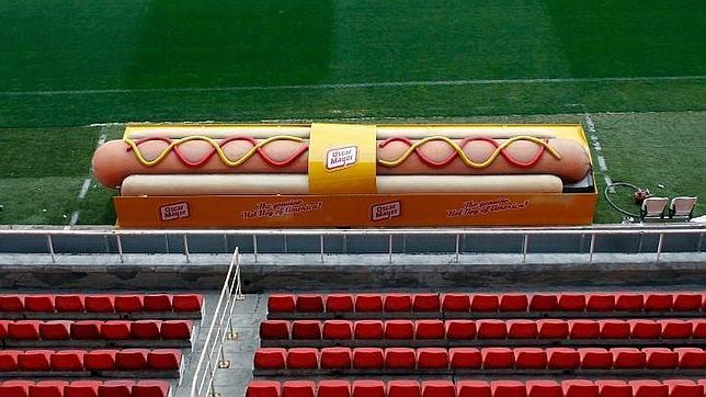 Banquillos de Oscar Mayer Street Marketing