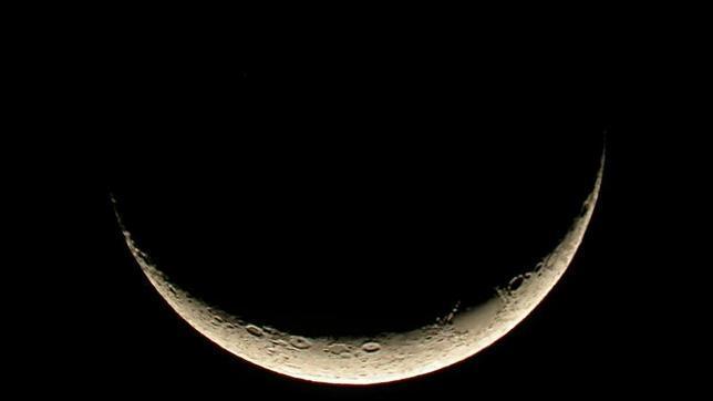 Por qué la Luna a veces tiene forma de «U» - ABC.es