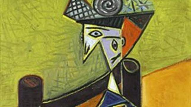 «Mujer sentada en una butaca», de Pablo Picasso. Sotheby'S