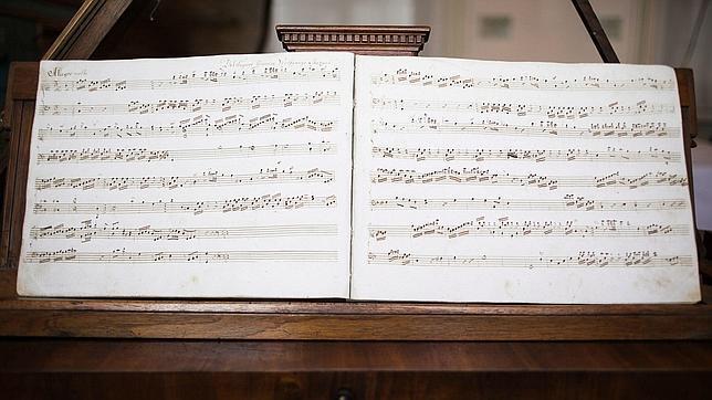 Rescatan un «Allegro molto» inédito compuesto por Mozart a los once años