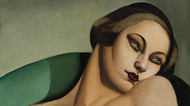 La obra «Nu Adossé», de Tamara de Lempicka. ABC