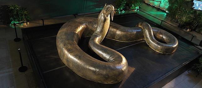 Titanoboa, la serpiente más grande del mundo