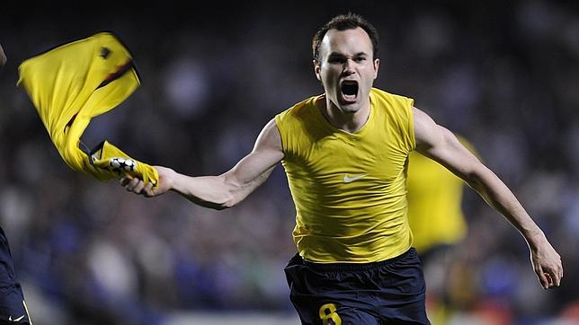 Aquel gol de iniesta en stamford bridge for Andres iniesta squadre attuali