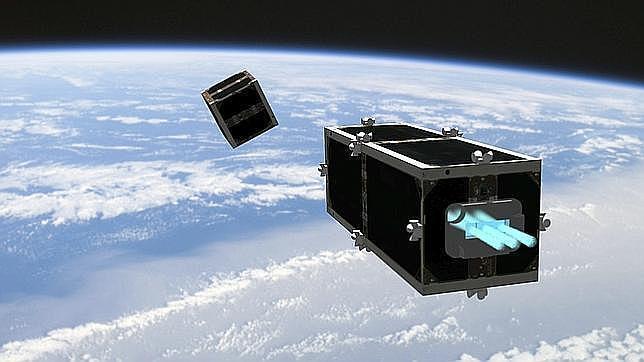Piezas de naves espaciales caen a la Tierra una vez por semana