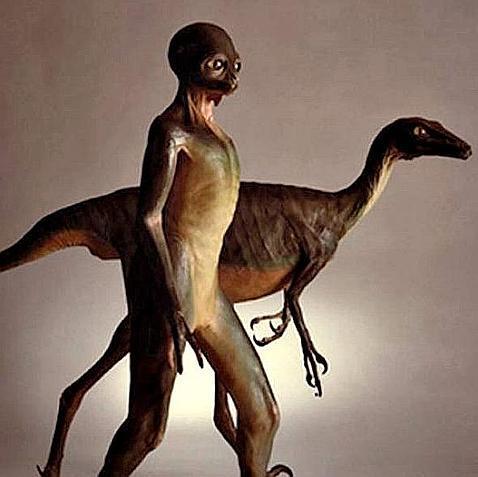 Dinosaurios inteligentes en otros planetas
