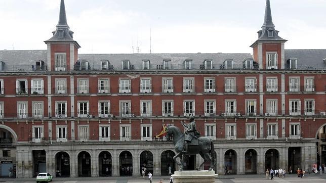 Fachada de la casa de la carnicer a de la plaza mayor - Carniceria en madrid ...