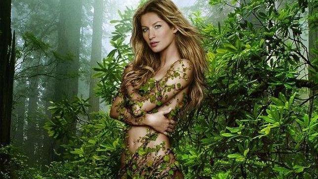 Gisele Bündchen se desnuda en Twitter para celebrar el Día de la Tierra