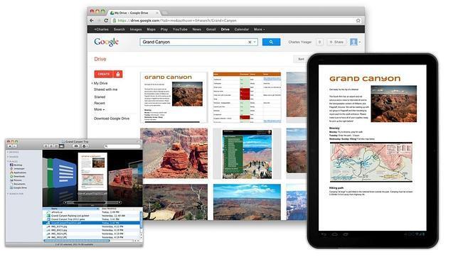 Google Drive, el almacén de Google para la nube