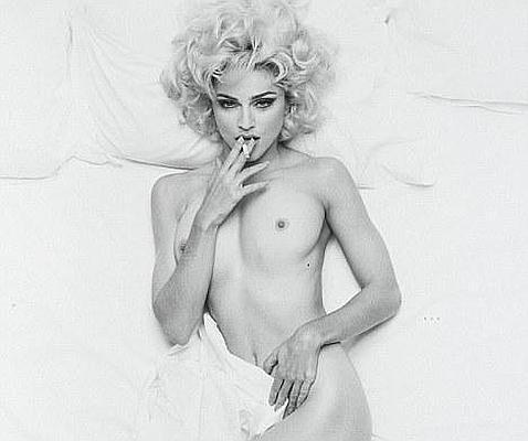 Sale A Subasta Una Foto De Madonna Desnuda