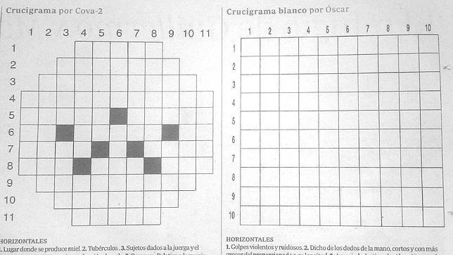 El desafío del crucigrama desnudo - ABC.es 82599d0745e