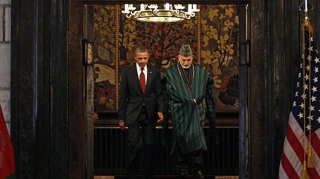 Obama firma en Afganistán una «alianza estratégica» hasta 2024