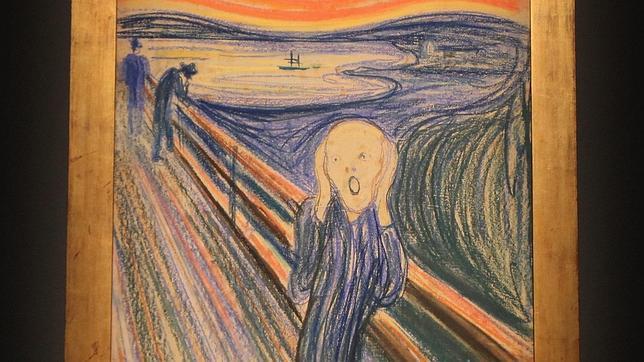 Imagen del cuadro «El grito» de Munch. AFP