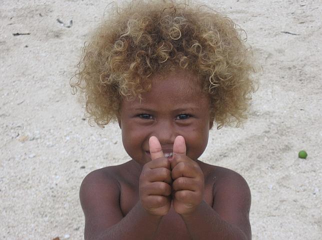 El misterio de los indígenas rubios de las islas Salomón