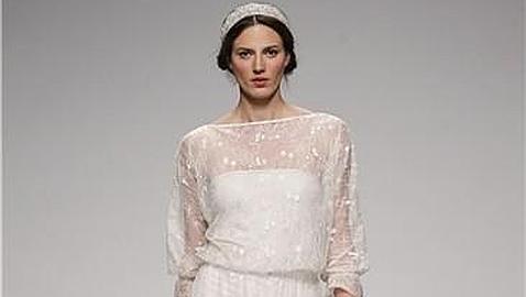 dd46e6c047 Los 10 mejores vestidos de Cibeles Madrid Novias - ABC.es