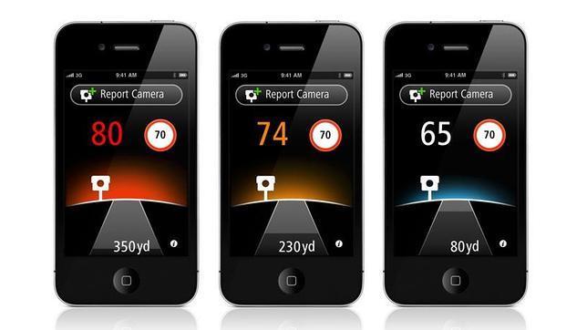 TomTom, aplicacion de radares para iPhone