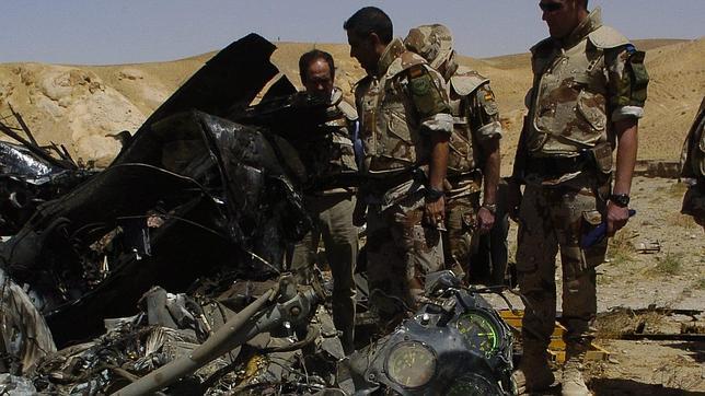 Un juez militar interroga a dos afganos testigos del accidente del Cougar en 2005