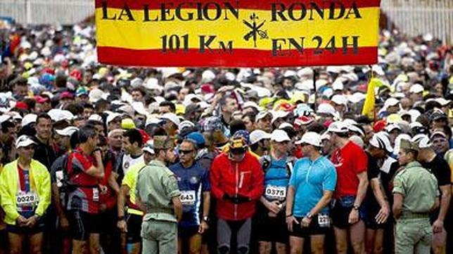 101 km legion: