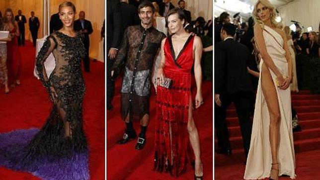 beyonc marc jacobs y anja rubik entre los peor vestidos de la gala del met