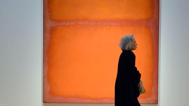 «Orange, red, yelow», de Rothko. AFP