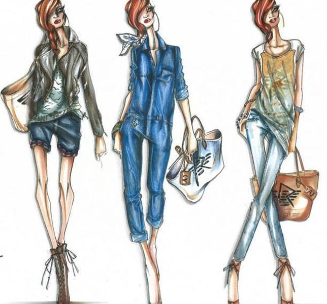 Bocetos de la segunda colección de Rihanna para Armani - ABC.: www.imagui.com/a/imagenes-de-bocetos-de-moda-TG6rkqnrg
