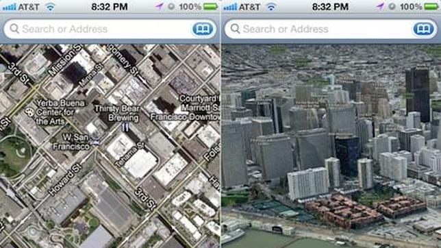 Apple se desconectar� de Google Maps y estrenar� Mapas en iOS 6