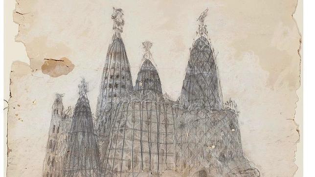 Los Mossos impiden la subasta de dos dibujos de la Colonia Güell de Gaudí