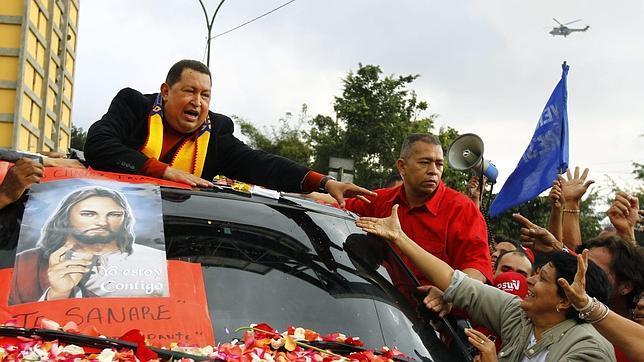 Chávez se agarra a la fe para vencer la terrible enfermedad que padece