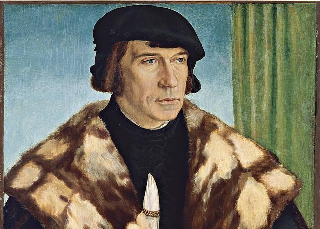 «Retrato de Ruprecht Stüpf», Barthel Beham. MUSEO THYSEEN-BORNEMISZA