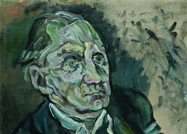 «Retrato de Max Schmidt», Oskar Kokoschka. MUSEO THYSEEN-BORNEMISZA