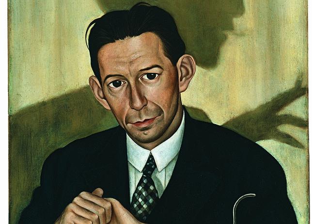 «Retrato del Dr. Haustein», Christian Schad. MUSEO THYSEEN-BORNEMISZA