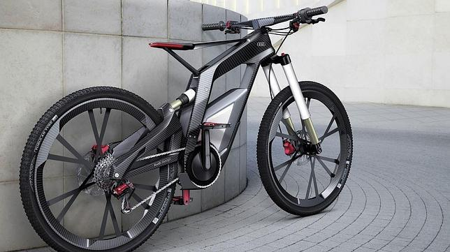 audi presenta e bike su prototipo de bicicleta el ctrica. Black Bedroom Furniture Sets. Home Design Ideas