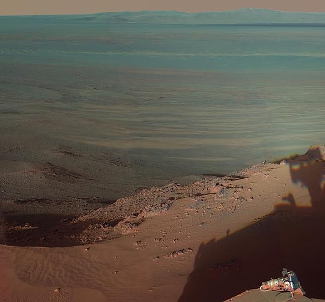 Impresionantes imágenes de Marte captadas por un rover de la NASA
