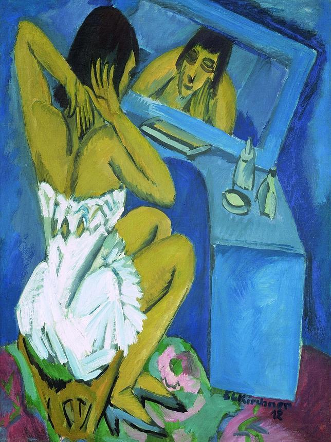 «Aseo. Mujer ante el espejo» (1913-1920). CENTRO POMPIDOU DE PARÍS