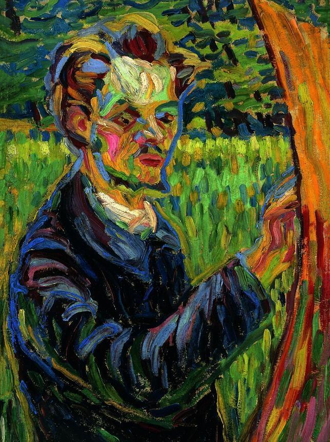«Retrato del pintor Heckel» (c. 1907). COLECCIÓN PARTICULAR