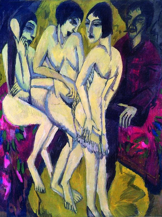 «El juicio de Paris» (1912-1913). Anverso. JOACHIM WERKMEISTER