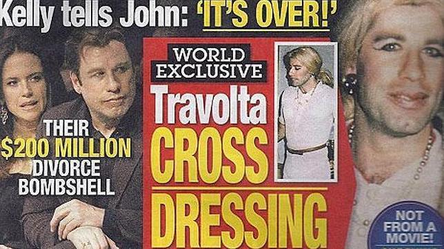 Resultado de imagen de Travolta vestido de mujer