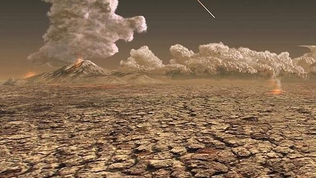 La gran extinción que casi acabó con la vida en la Tierra