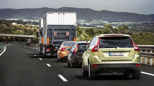 Volvo prueba en España su sistema de piloto automático para coches