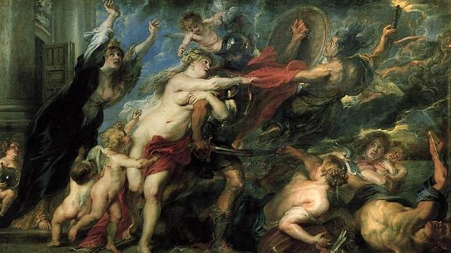 «Los desastres de la guerra», de Rubens. PALAZZO PITTI. FLORENCIA