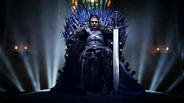 El trono de la serie juego de tronos a la venta por 24 for Silla juego de tronos