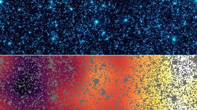 El primer resplandor del Universo, visto como nunca